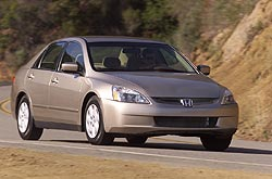 First Drive: 2003 Honda Accord sedan honda first drives
