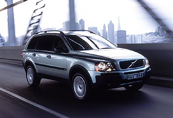 First Drive: 2003 Volvo XC90 volvo first drives
