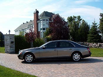 Test Drive: 2004 Maybach 57 car test drives maybach