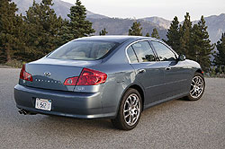 Used Vehicle Review: Infiniti G35 Sedan, 2003 2006 used car reviews reviews luxury cars infiniti