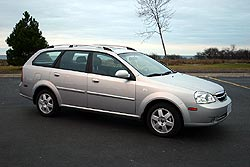 Test Drive: 2005 Chevrolet Optra Wagon LS car test drives chevrolet