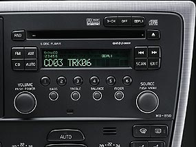 Volvo Dolby Pro Logic II 5.1 Surround Sound system