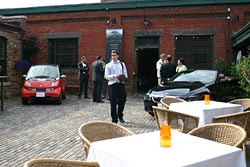 The Dreamfleet launch was held in Toronto's historical Distillery District