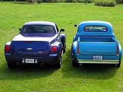 2005 Chevrolet SSR and 1949 Studebaker