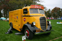 A 1939 Studebaker COE truck, all ready for Coca-Cola deliveries
