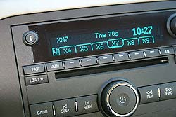 Factory-installed XM-capable radio in a 2006 Buick Lucerne