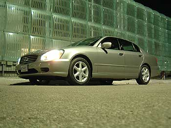 Test Drive: 2002 Infiniti Q45  car test drives infiniti