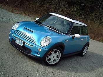 Test Drive: 2003 Mini Cooper S car test drives mini