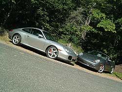 Porsche 911 Carrera 4S and Porsche Boxster