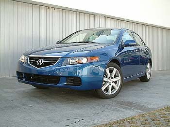 First Drive: 2004 Acura TSX first drives acura