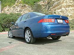 First Drive: 2004 Acura TSX acura first drives