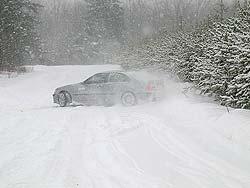 BMW Winter Driver Training