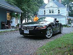 BMW Z4 Carolina trip