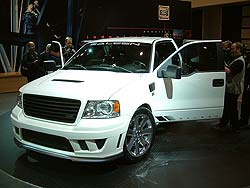 Saleen customized Ford F-150