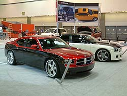 Dodge Chargers customized by Mopar