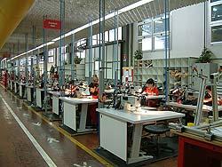 Ferrari textile shop