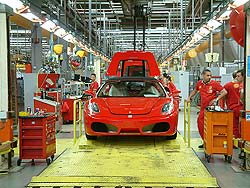 F430s rolling off the line