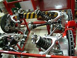 Ferrari suspension
