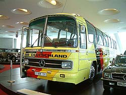 German soccer team bus