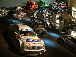 CLK, DTM, and other race cars
