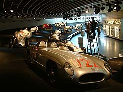 Sir Stirling Moss car from 1955 Mille Miglia
