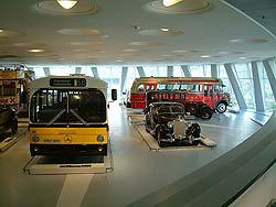 Bus exhibit
