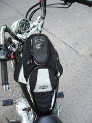 Joe Rocket bag holds a bushel of stuff, looks even better when it's right side up.
