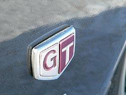 GT fender emblem