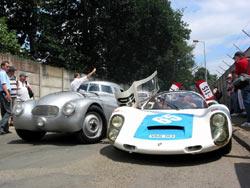 Le Mans Classic 2006 - Adler and Porsche