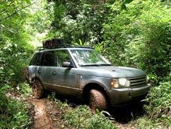 Land Rover adventures in Belize