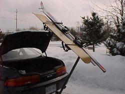 Scorpion ski rack