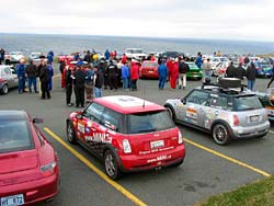 Feature: Mini Cooper S handles Targa Newfoundland  motorsports customization