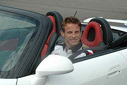 BAR Honda Formula 1 driver Jensen Button