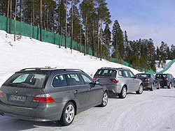 Winter driving test: BMW xDrive bmw