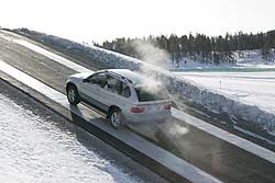 Winter driving test: BMW xDrive winter driving bmw