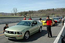 Mustangs at Circuit Mont-Tremblant