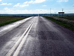 Highway 13 in Alberta