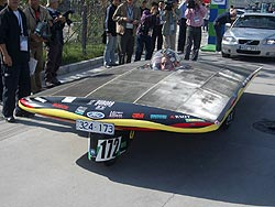 Aurora Solar Car