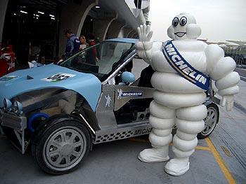 Greetings from Bibendum, The Michelin Man