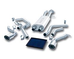 Borla system for Cadillac Escalade
