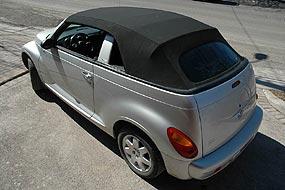 Edscha convertible roof - Chrysler PT Cruiser