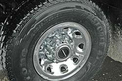 Correct light truck (LT-metric) tire on Ford F350