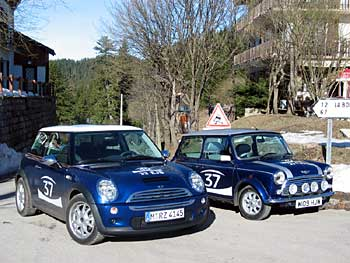 Minis:  old and new