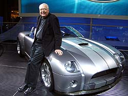 Carroll Shelby with Cobra