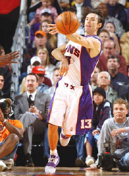 Phoenix Suns point guard Steve Nash