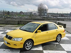 2003 Mitsubishi Lancer OZ Rally Edition
