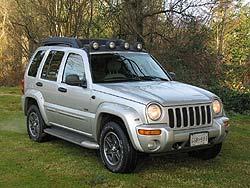 Test Drive: 2003 Jeep Liberty Renegade jeep car test drives