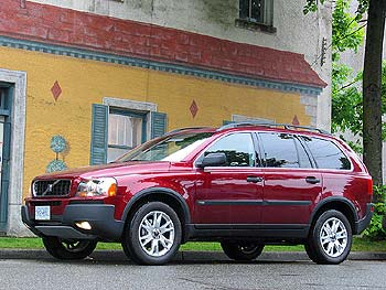 Test Drive: 2004 Volvo XC90 2.5T car test drives
