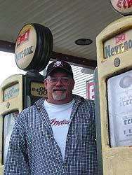 Shawn Audet, owner of Tubby's Garage