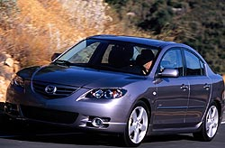 Test Drive: 2004 Mazda3 GT Sedan car test drives mazda